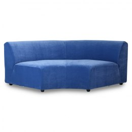 Kanapa JAX, element okrągły ROYAL VELVET BLUE