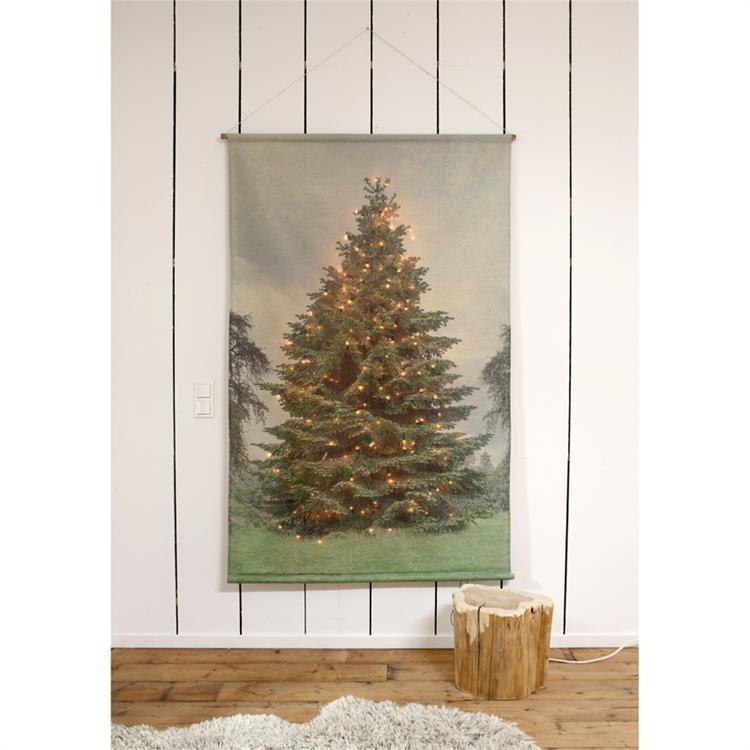 Plakat świąteczny choinka