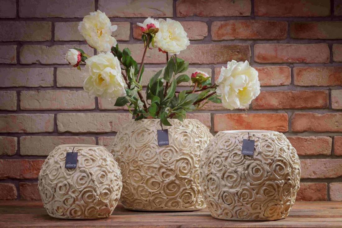 Ceramiczna doniczka oslonka SASSI